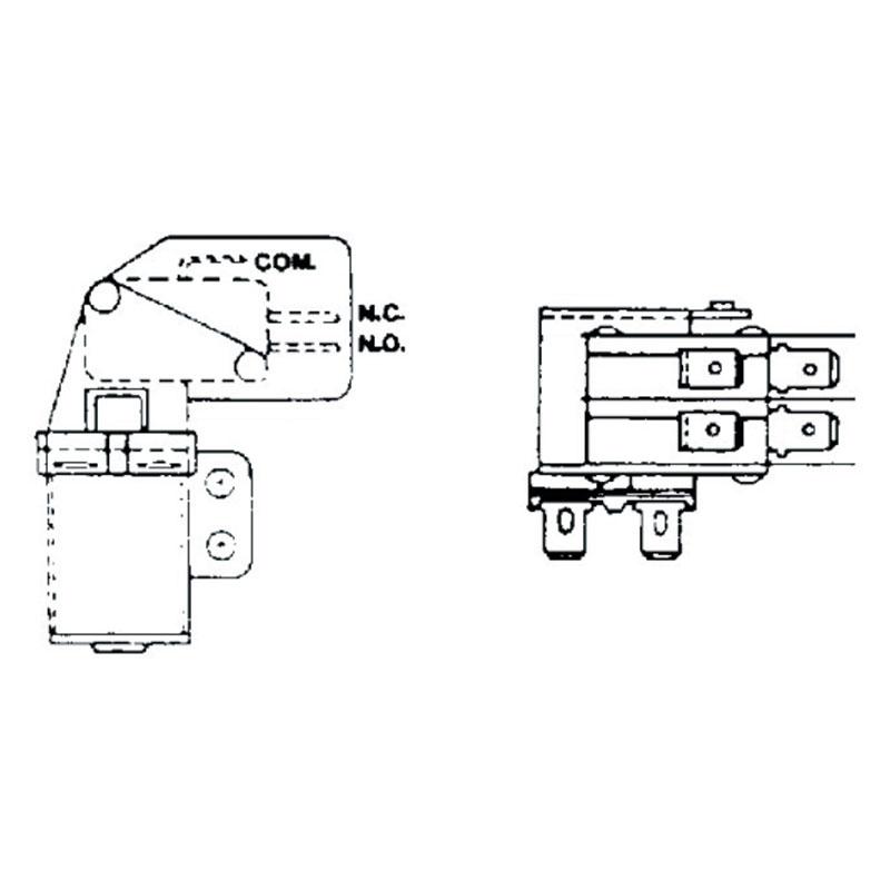 Relay - Potter Brumfield S87 DPDT 12V Coil - 1454