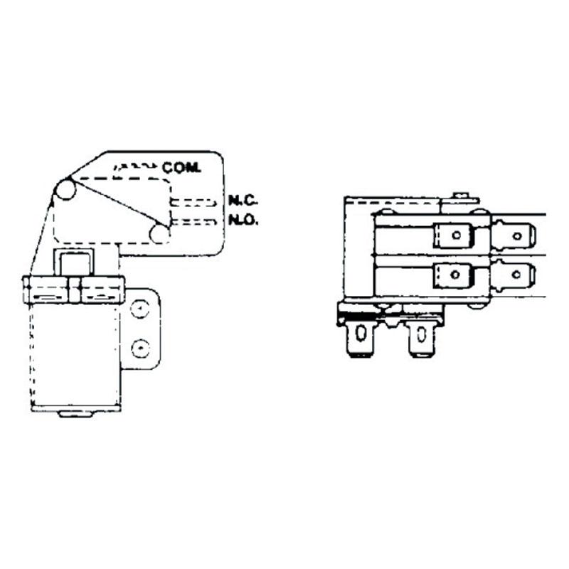 Relay - Potter Brumfield S87 SPDT 12V Coil - 2123