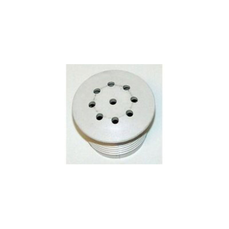 Air Injector Insert Only, White,Threaded Top