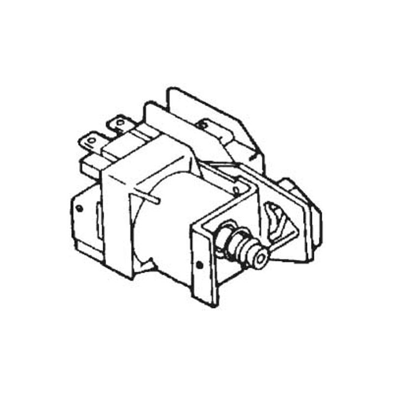 Relay - Potter Brumfield S90R, 4PDT 120 Volt Coil - 5074