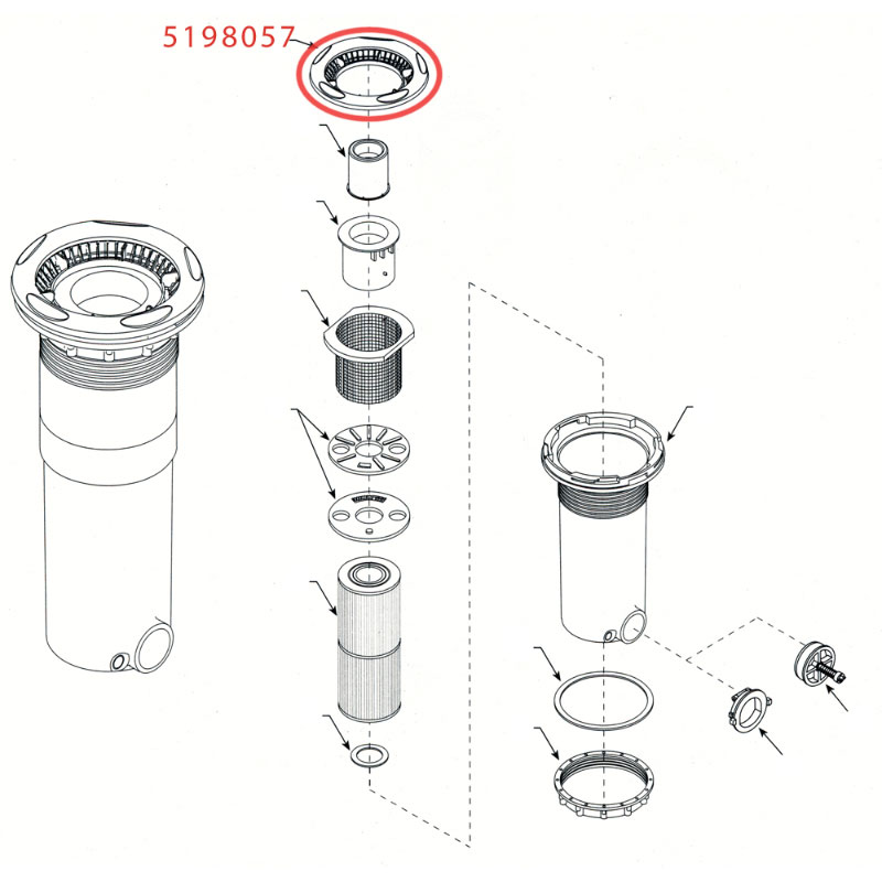 DynaFlo T/M FIlter Trim Ring