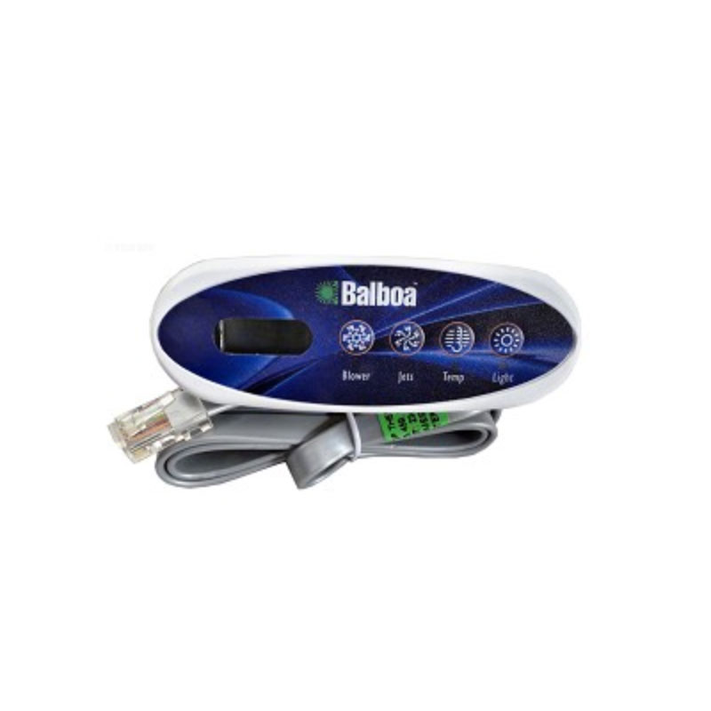 Balboa Topside VL200 4-button Mini Oval with Overlay -52144