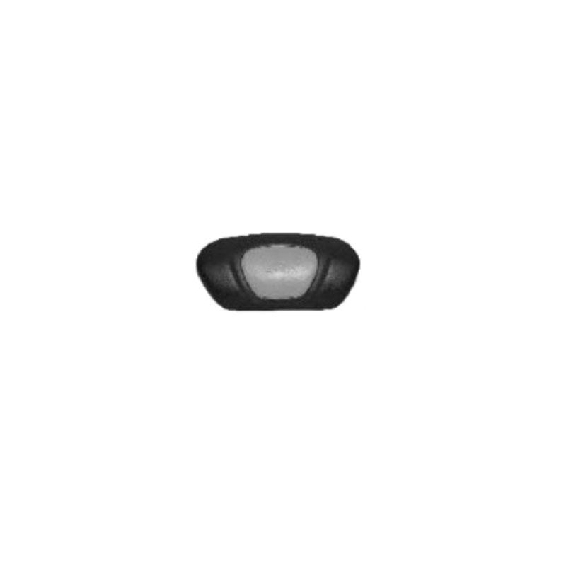 Pillow - Vita Spa 700 Series Black w/ Silver Insert (#532072)