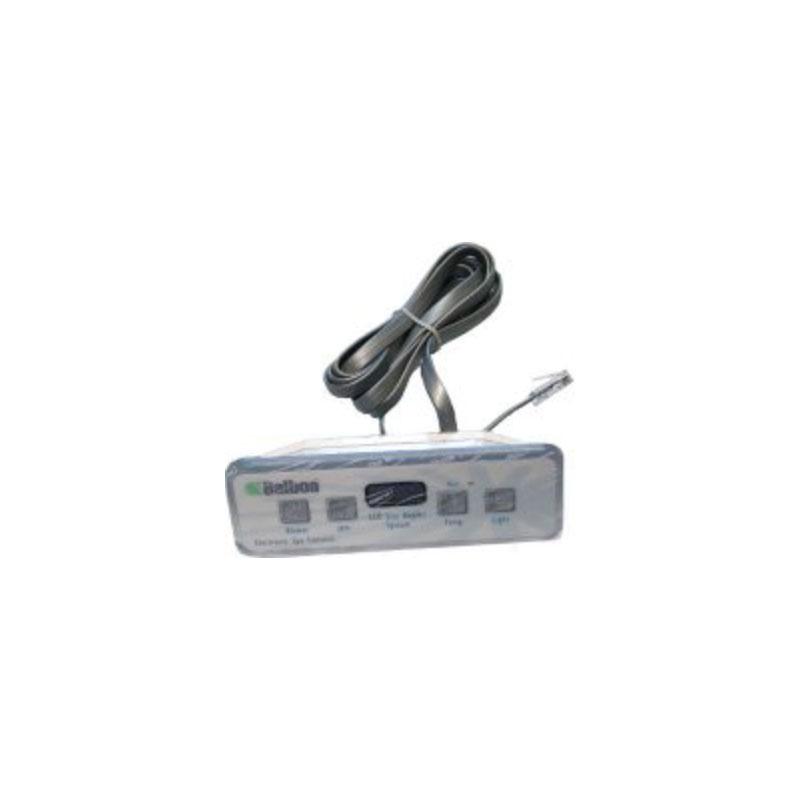 Balboa Topside VL 401 4-button Lite Duplex Digital LCD with Overlay -54094
