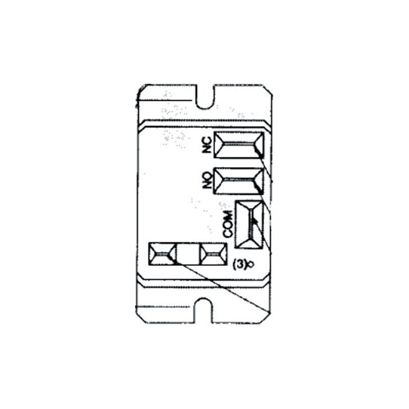 Relay - Potter Brumfield T91, SPDT 120 Volt Coil