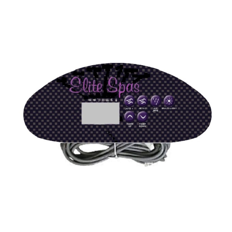 Hydro Quip Topside 6-Button Digital 34-0197-UB