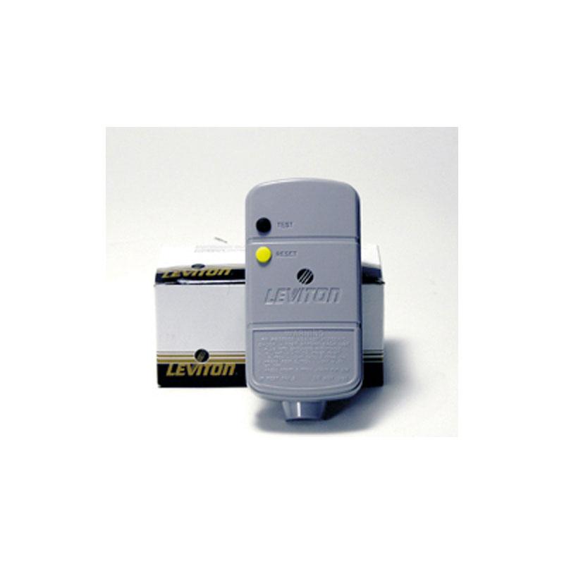 GFCI - 15 amp Cord Mount Right Angle Plug  (#7005)