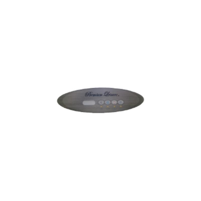Balboa Topside Overlay  4-button for MVP260 -7509