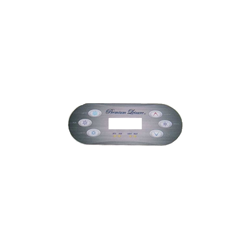 Balboa Topside Overlay - VL600 6-button Digital  -7511A