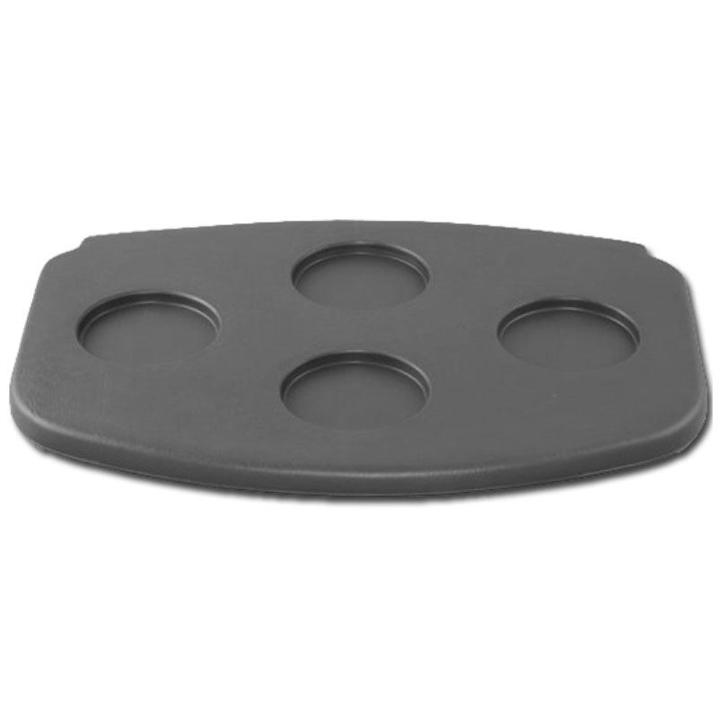 4-Cup Graphite Filter Lid