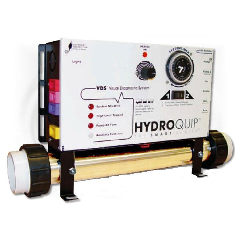 Hydro Quip Control System 1 Pump-Blower 120/240v  w/GFCI  CS6009-US1-HC