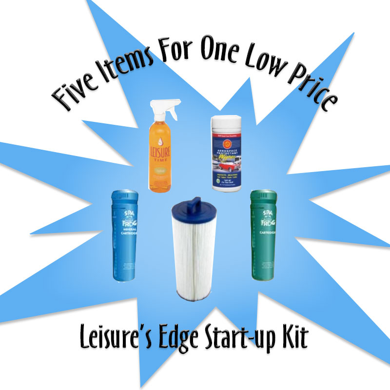 Leisure's Edge Start-Up Care Package